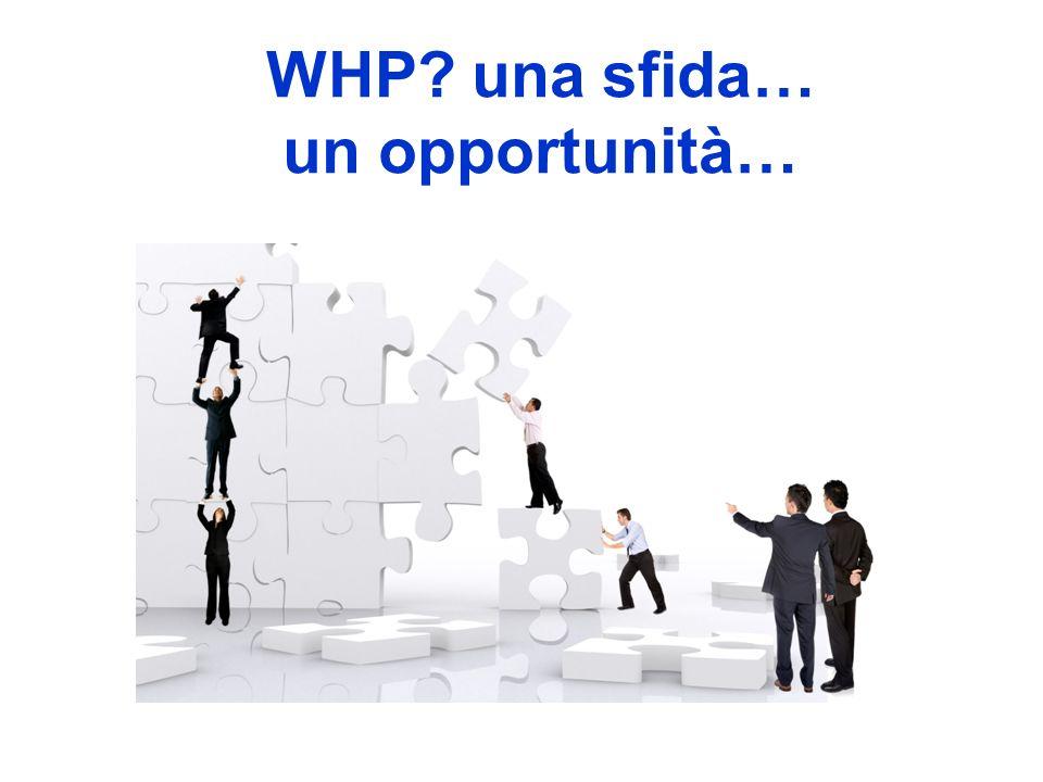 WHP una sfida… un opportunità…