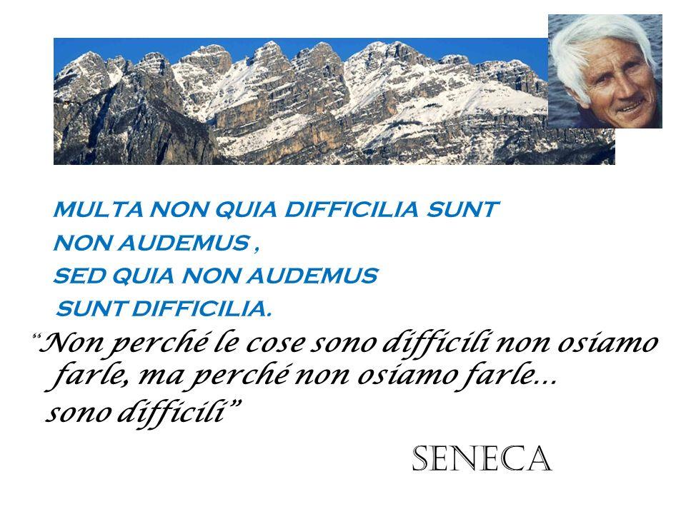 Seneca MULTA NON QUIA DIFFICILIA SUNT