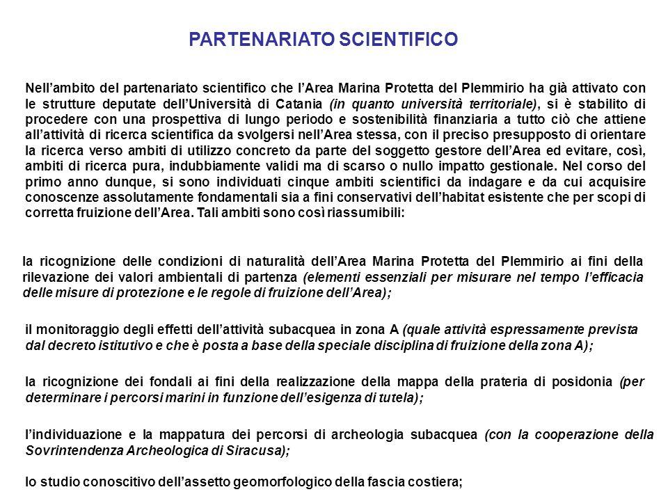 PARTENARIATO SCIENTIFICO