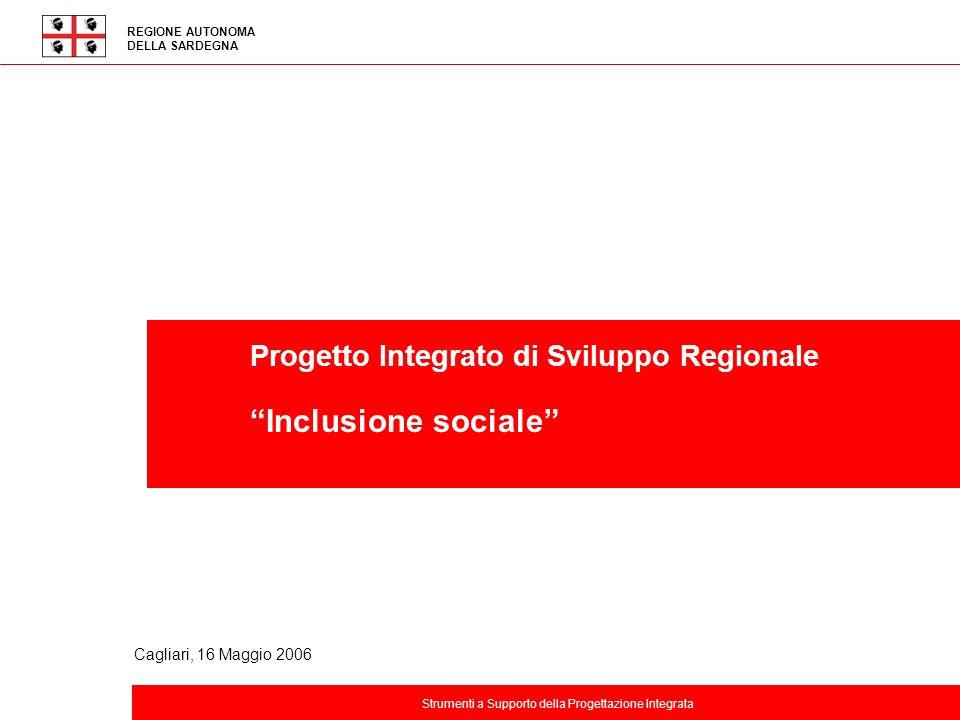 Inclusione sociale Progetto Integrato di Sviluppo Regionale