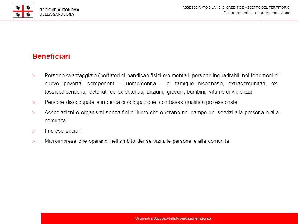 ASSESSORATO BILANCIO, CREDITO E ASSETTO DEL TERRITORIO