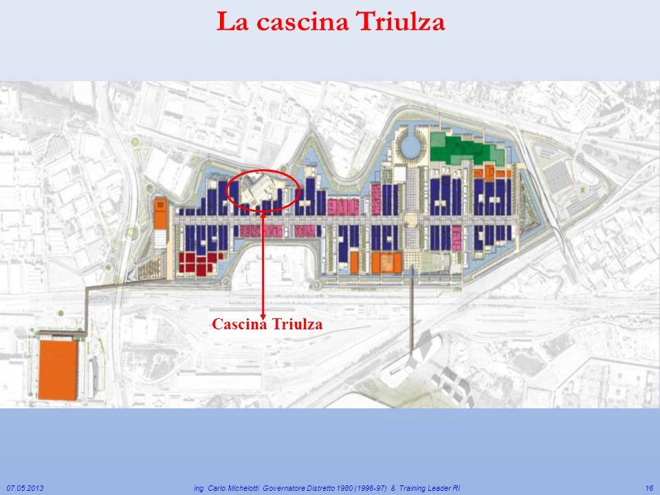 La cascina Triulza Cascina Triulza 07.05.2013