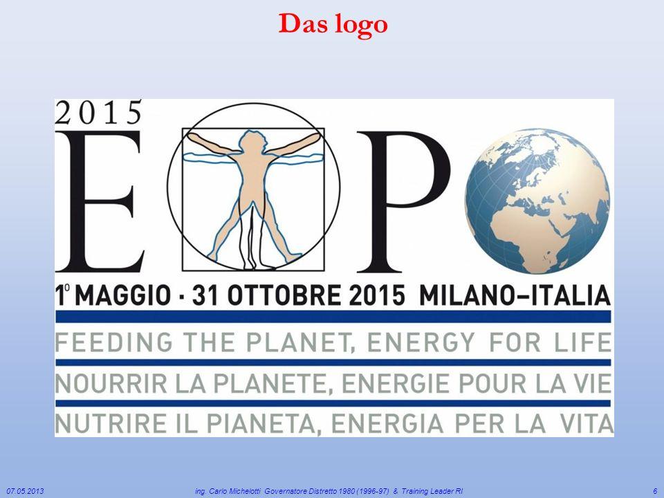 Das logo 07.05.2013. ing. Carlo Michelotti Governatore Distretto 1980 (1996-97) & Training Leader RI.