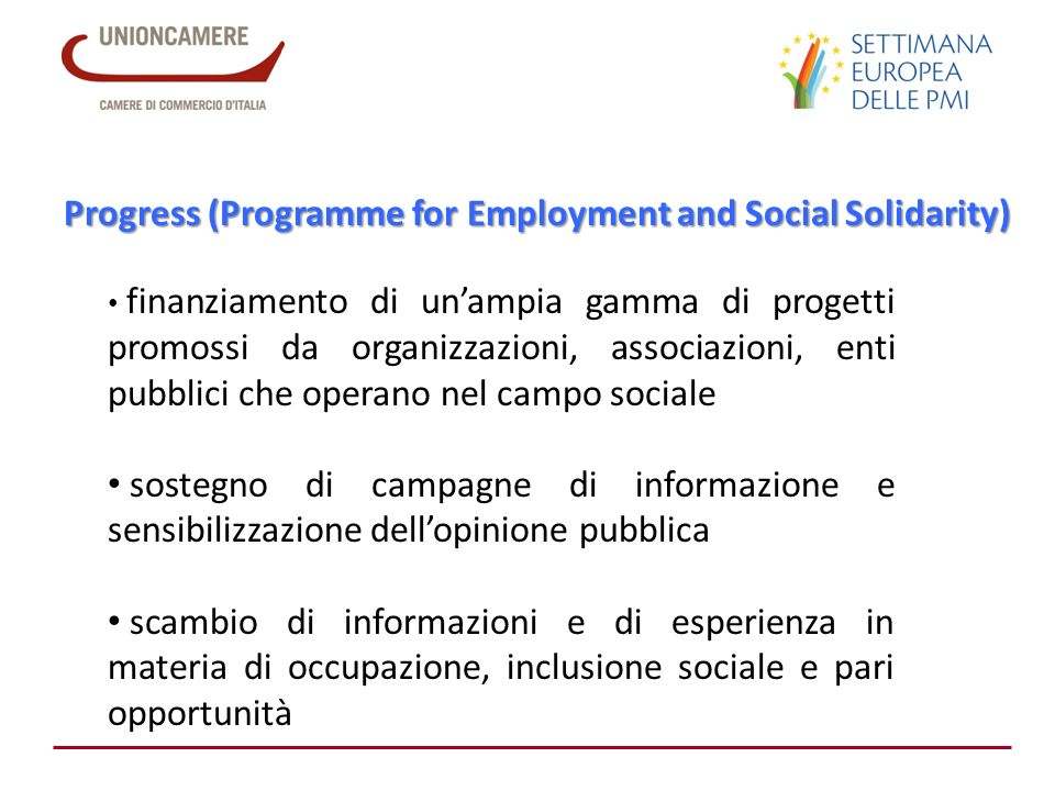 Progress (Programme for Employment and Social Solidarity)
