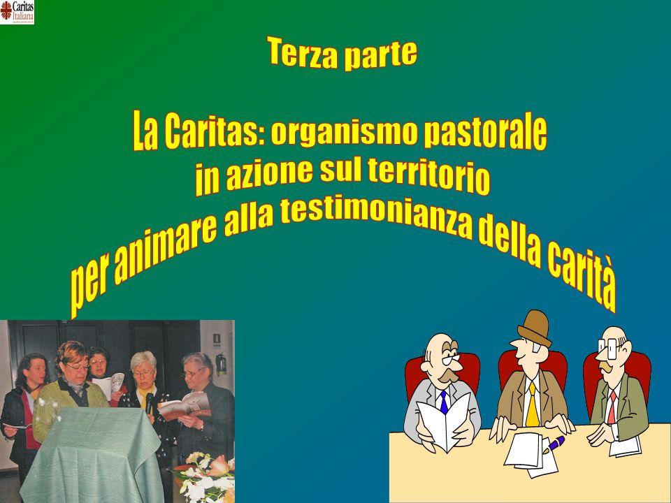 La Caritas: organismo pastorale in azione sul territorio