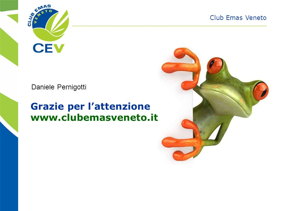 Grazie per l'attenzione www.clubemasveneto.it