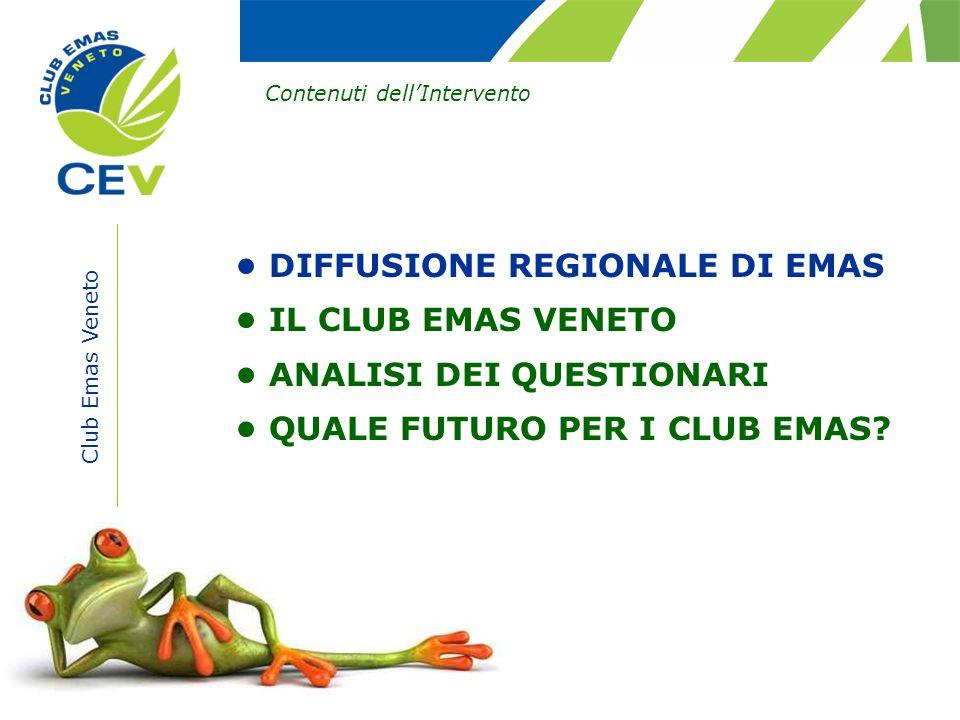 • DIFFUSIONE REGIONALE DI EMAS • IL CLUB EMAS VENETO