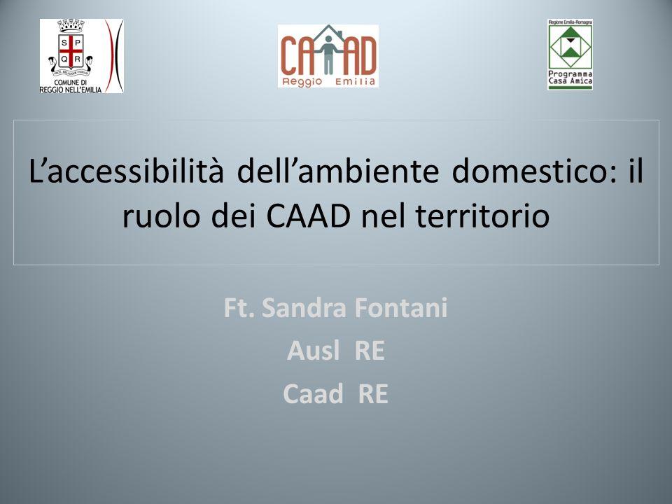 Ft. Sandra Fontani Ausl RE Caad RE