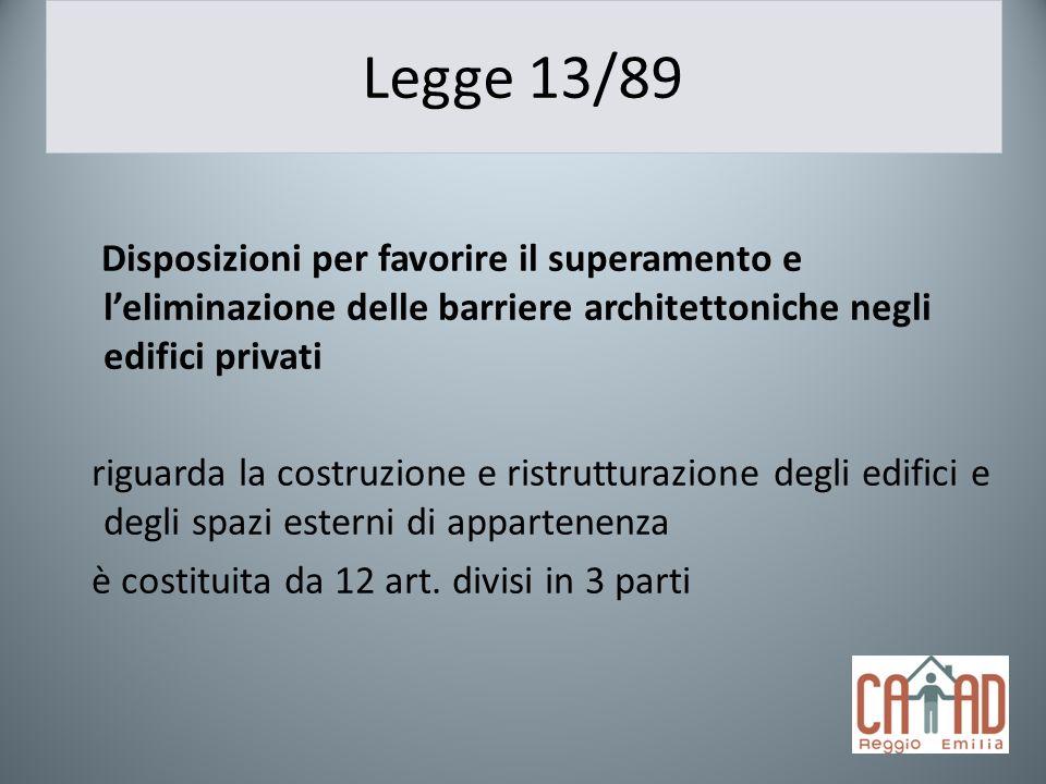Legge 13/89