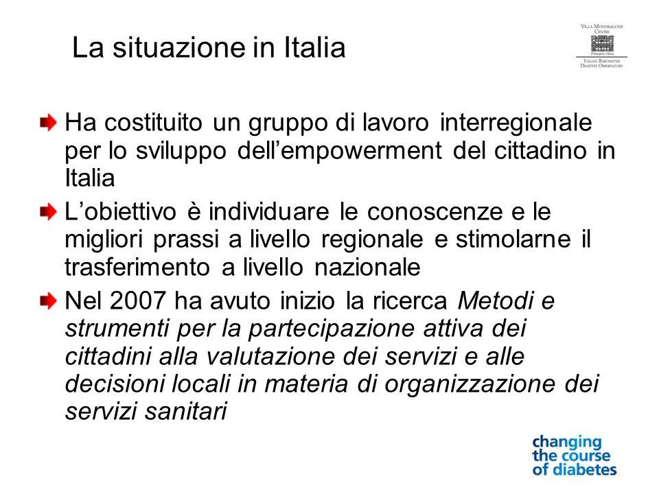La situazione in Italia