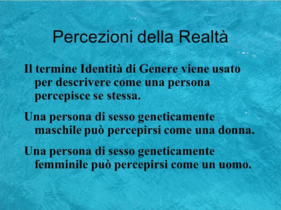 Percezioni della Realtà