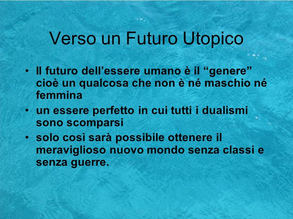 Verso un Futuro Utopico