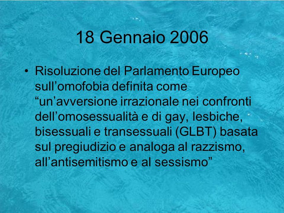 18 Gennaio 2006