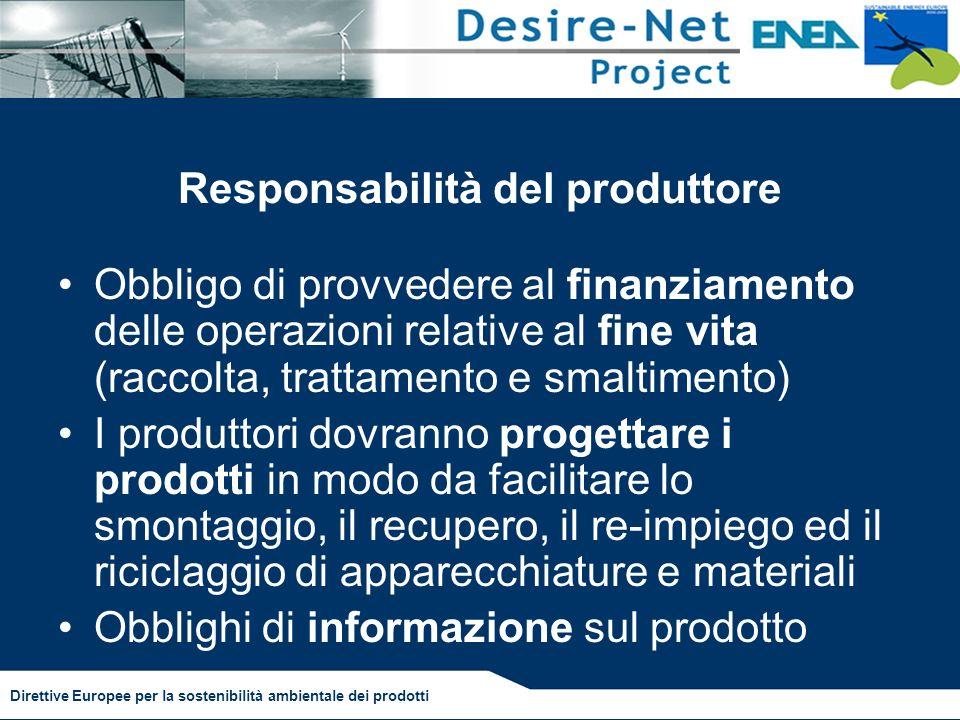 Responsabilità del produttore