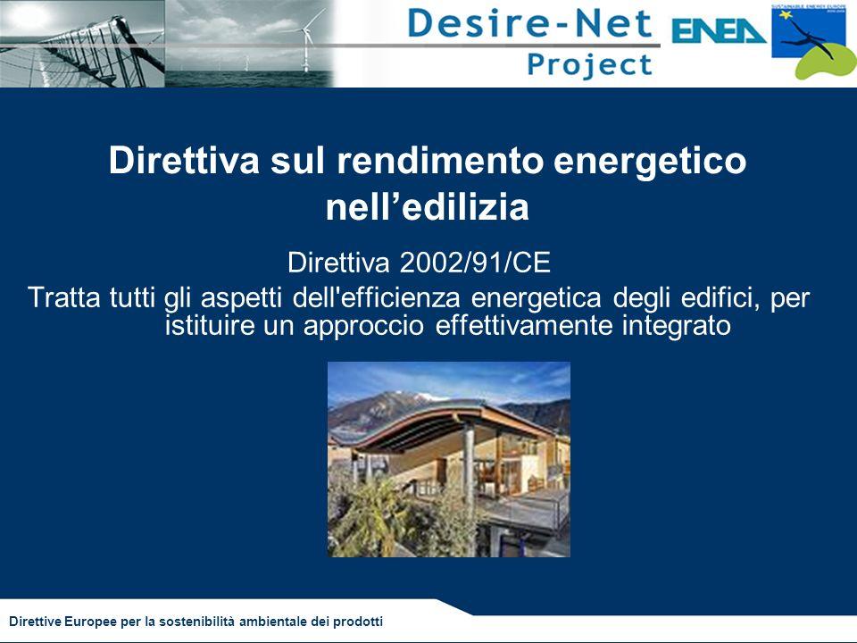 Direttiva sul rendimento energetico nell'edilizia