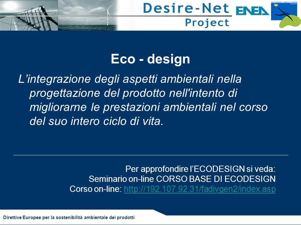Eco - design