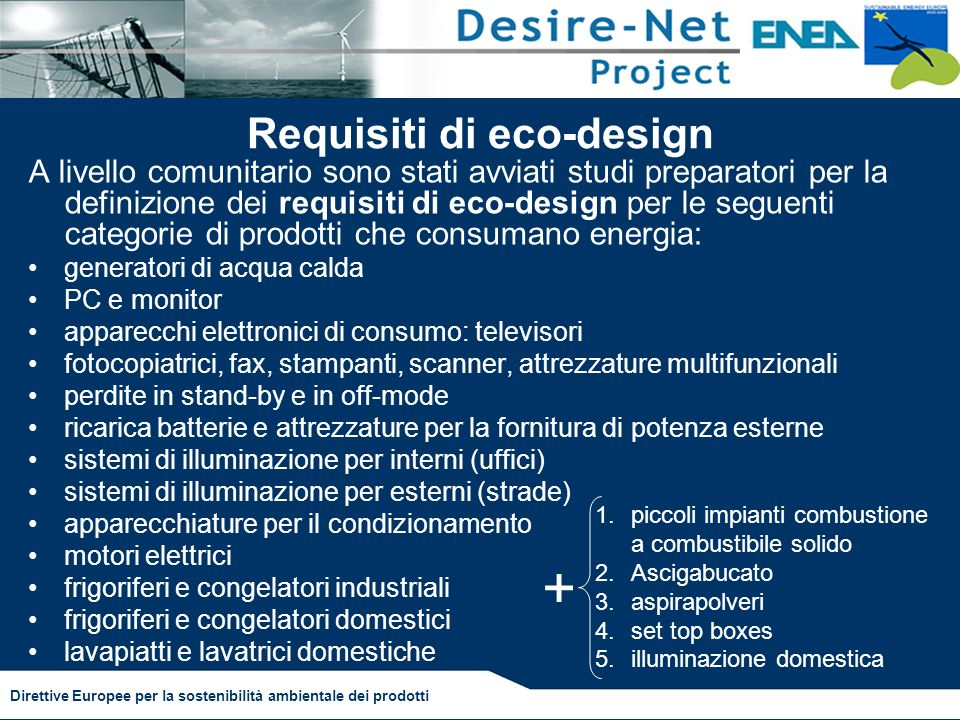 Requisiti di eco-design