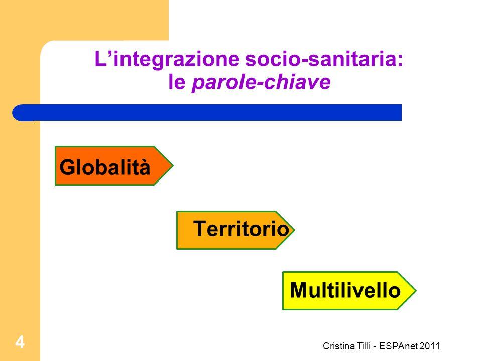 L'integrazione socio-sanitaria: le parole-chiave
