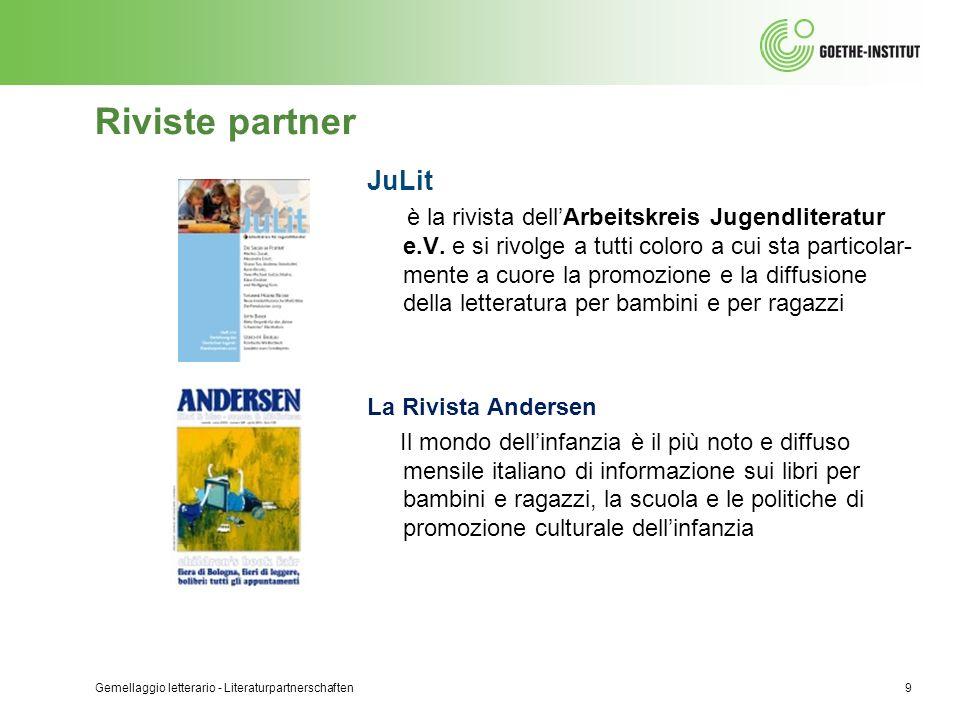 Riviste partner JuLit.