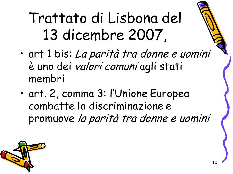 Trattato di Lisbona del 13 dicembre 2007,