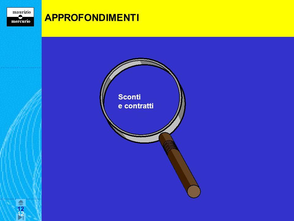 APPROFONDIMENTI Sconti e contratti