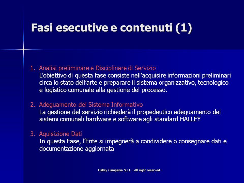 Fasi esecutive e contenuti (1)