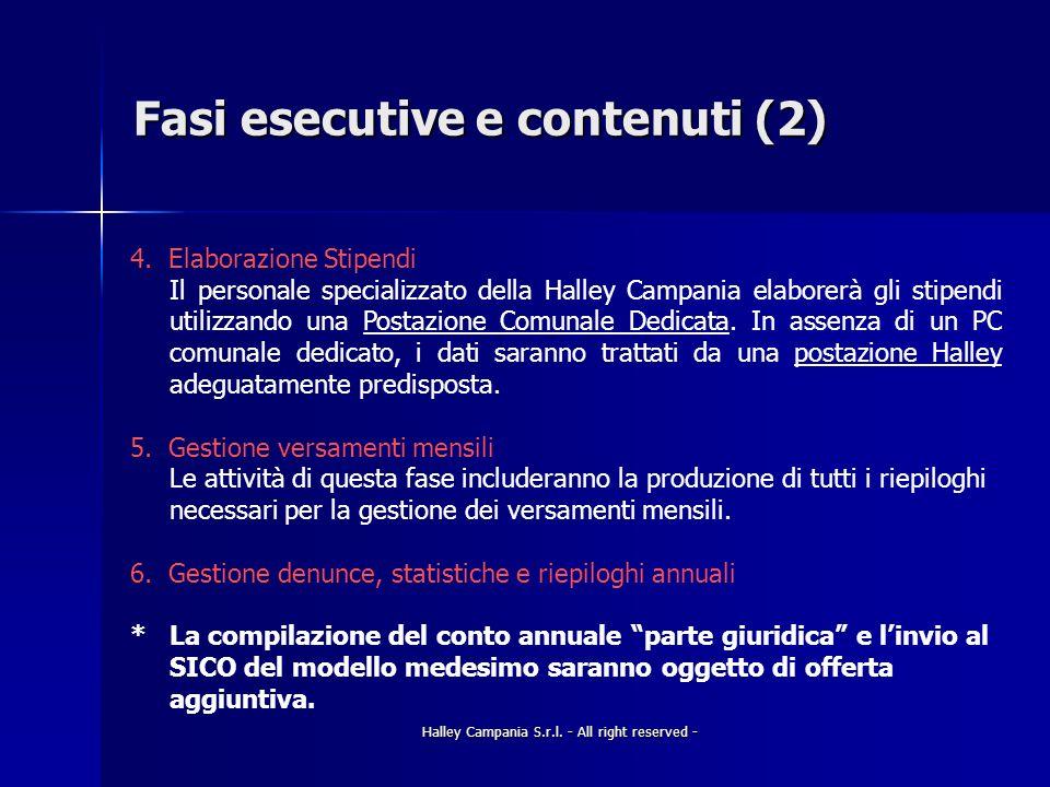 Fasi esecutive e contenuti (2)