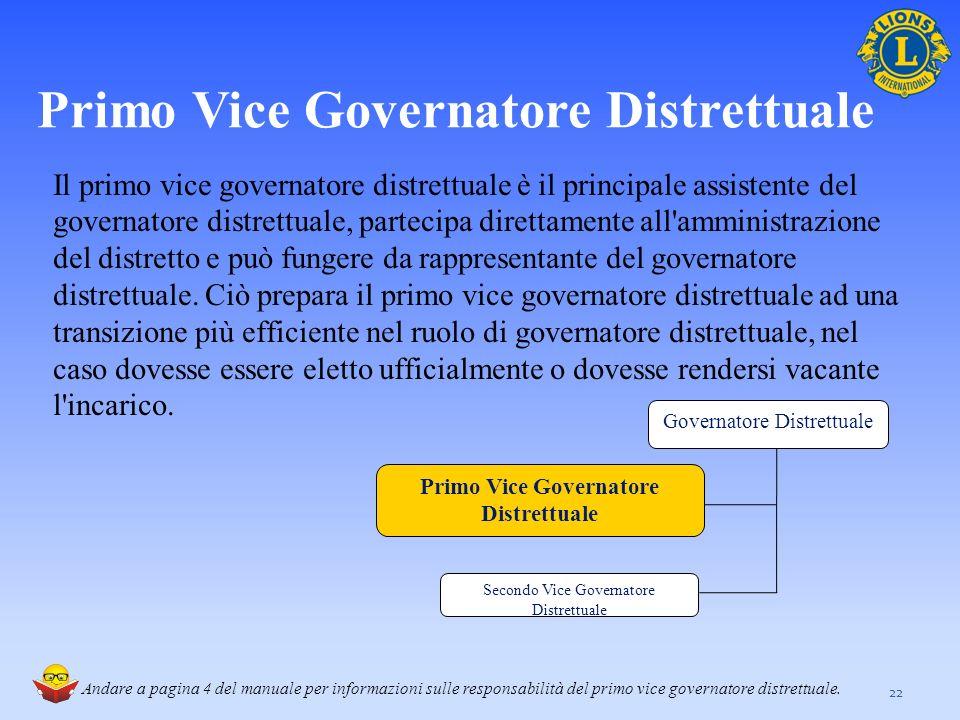 Primo Vice Governatore Distrettuale