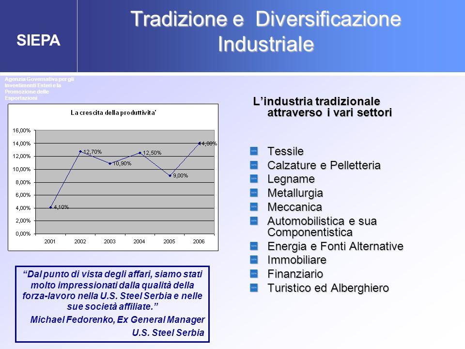 Tradizione e Diversificazione Industriale