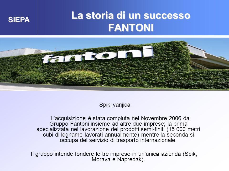 La storia di un successo FANTONI