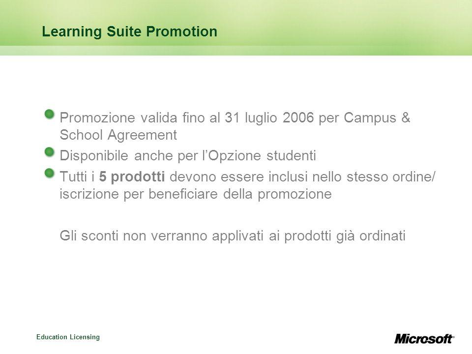 Learning Suite Promotion