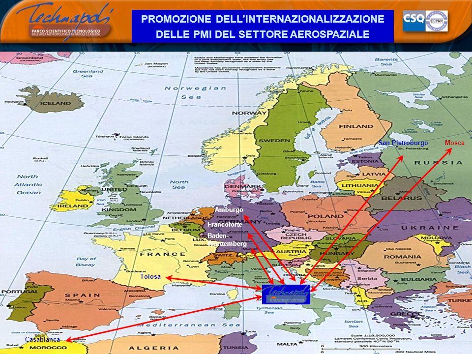 PROMOZIONE DELL'INTERNAZIONALIZZAZIONE DELLE PMI DEL SETTORE AEROSPAZIALE