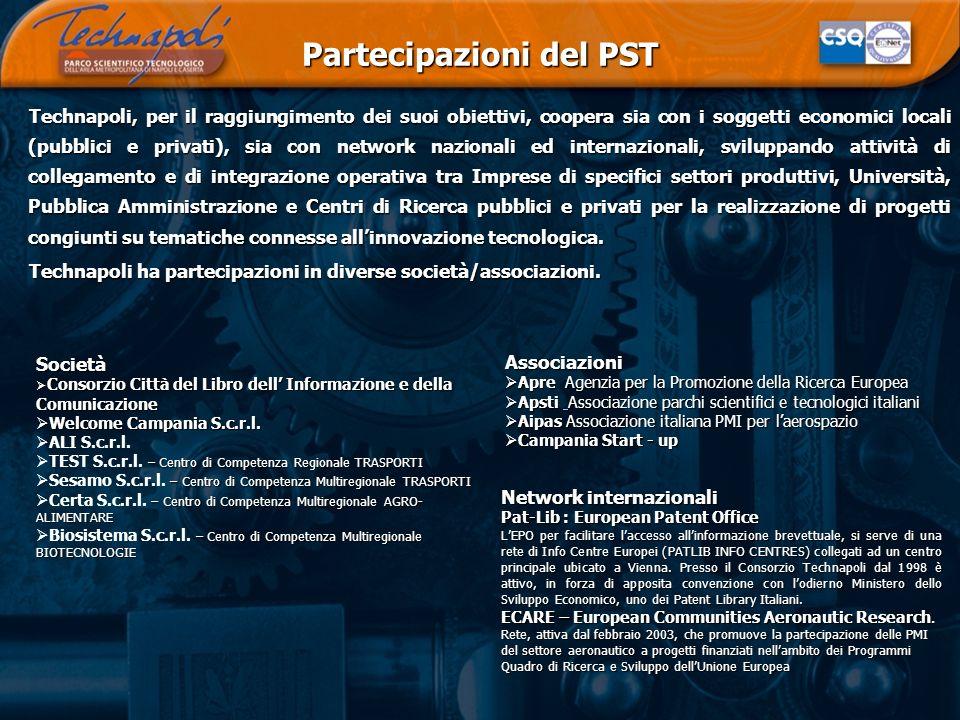 Partecipazioni del PST