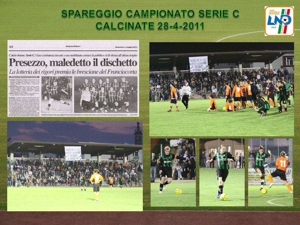 SPAREGGIO CAMPIONATO SERIE C