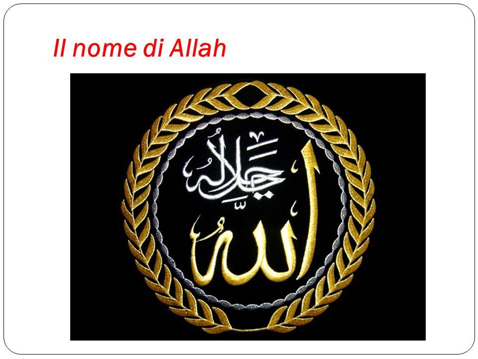 Il nome di Allah