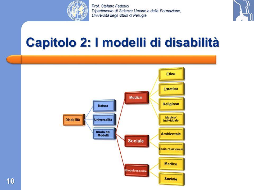 Capitolo 2: I modelli di disabilità