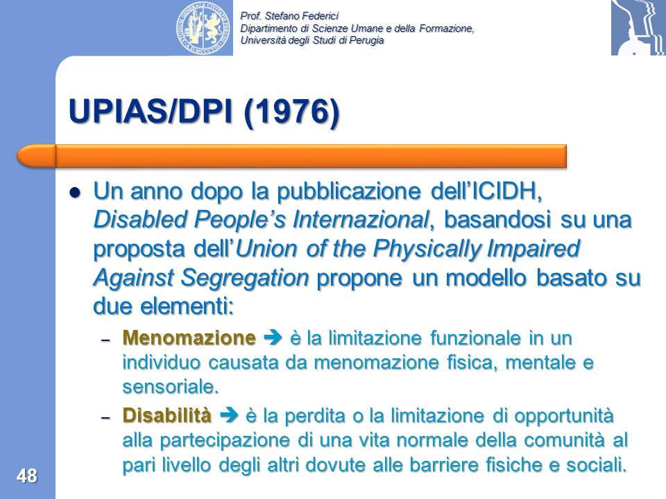 UPIAS/DPI (1976)