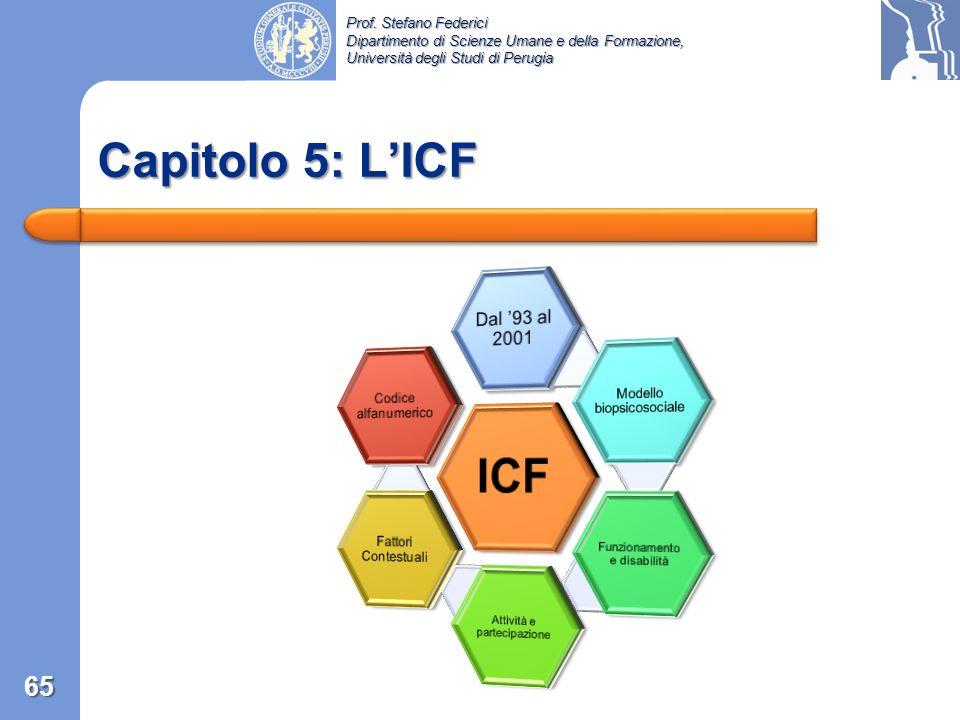ICF Capitolo 5: L'ICF Dal '93 al 2001 Fattori Contestuali