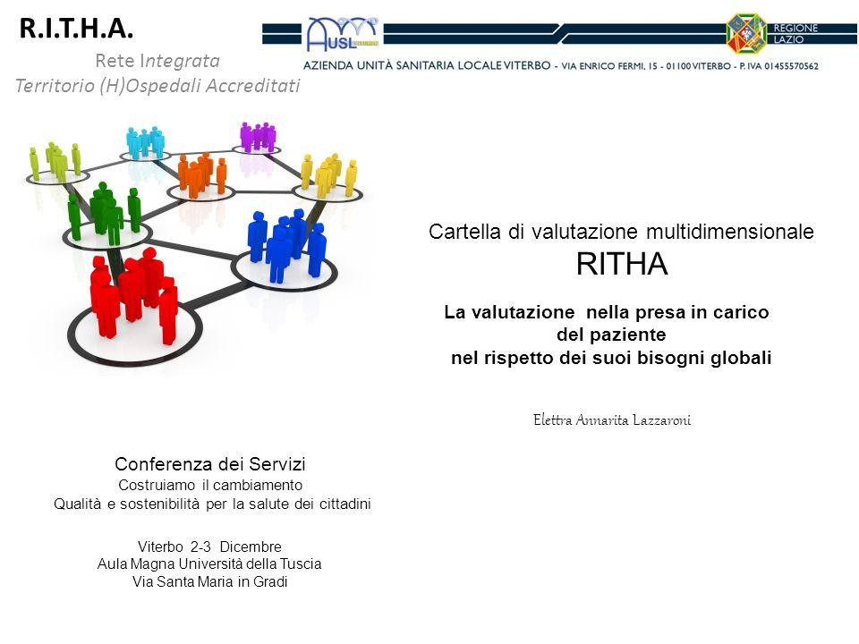 R.I.T.H.A. RITHA Rete Integrata Territorio (H)Ospedali Accreditati