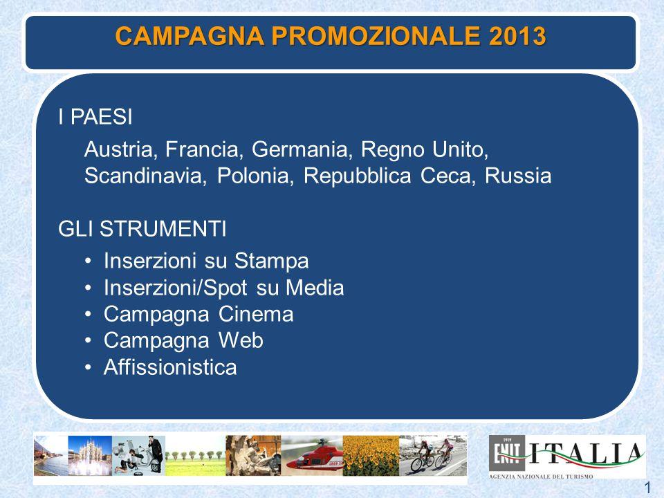 CAMPAGNA PROMOZIONALE 2013