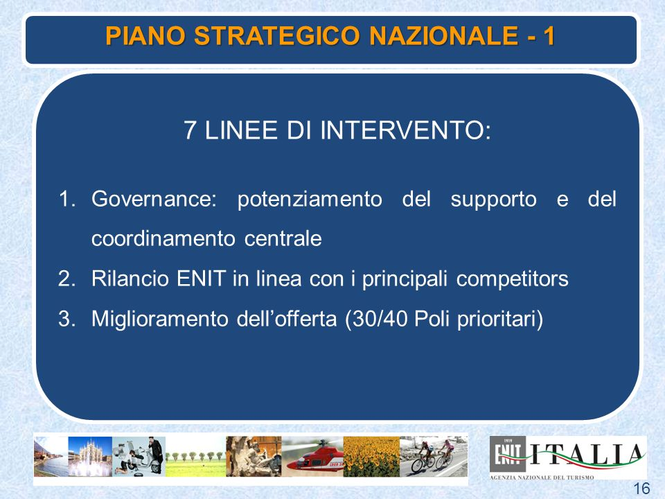 PIANO STRATEGICO NAZIONALE - 1