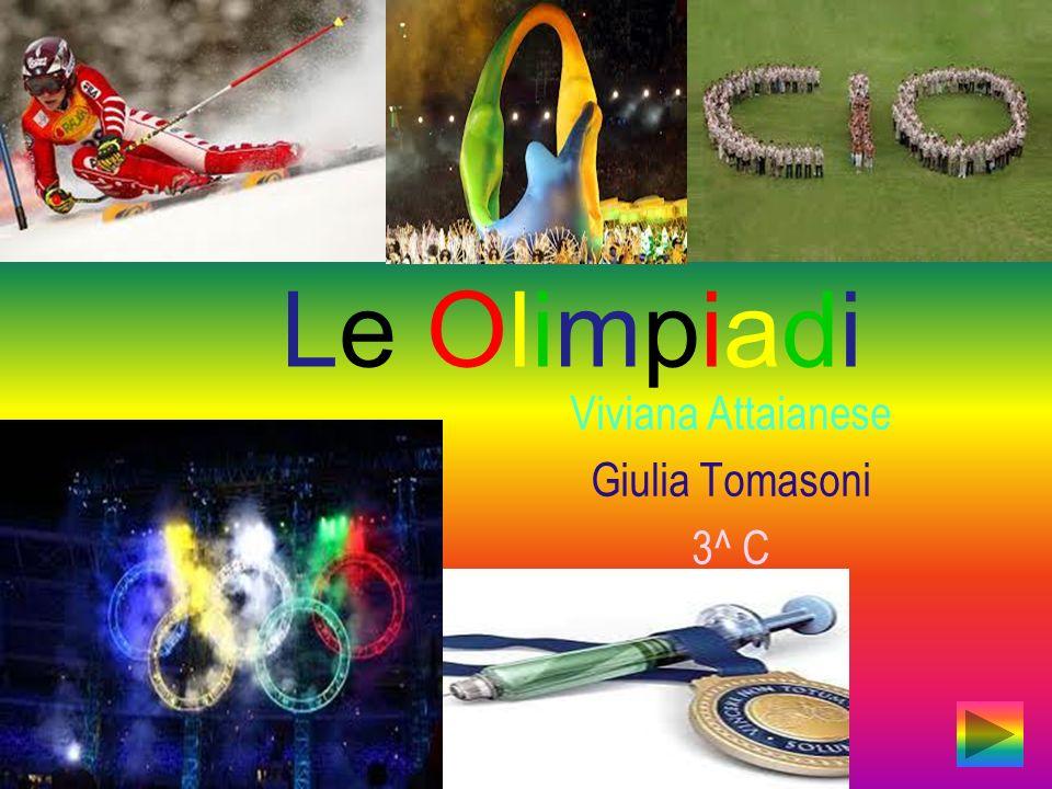 Viviana Attaianese Giulia Tomasoni 3^ C