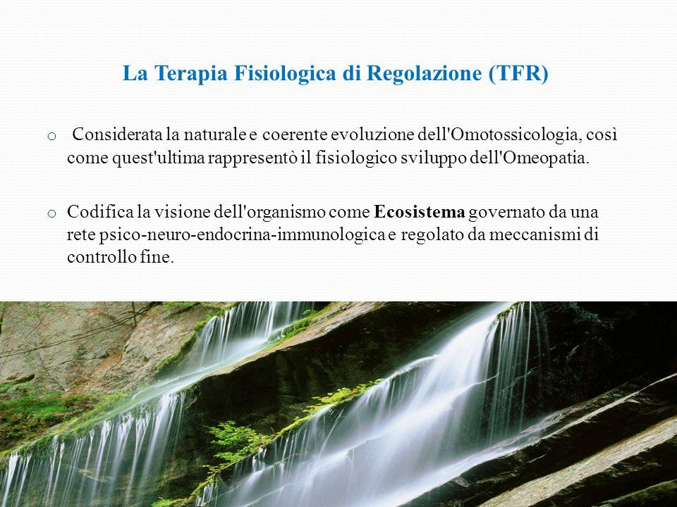 La Terapia Fisiologica di Regolazione (TFR)