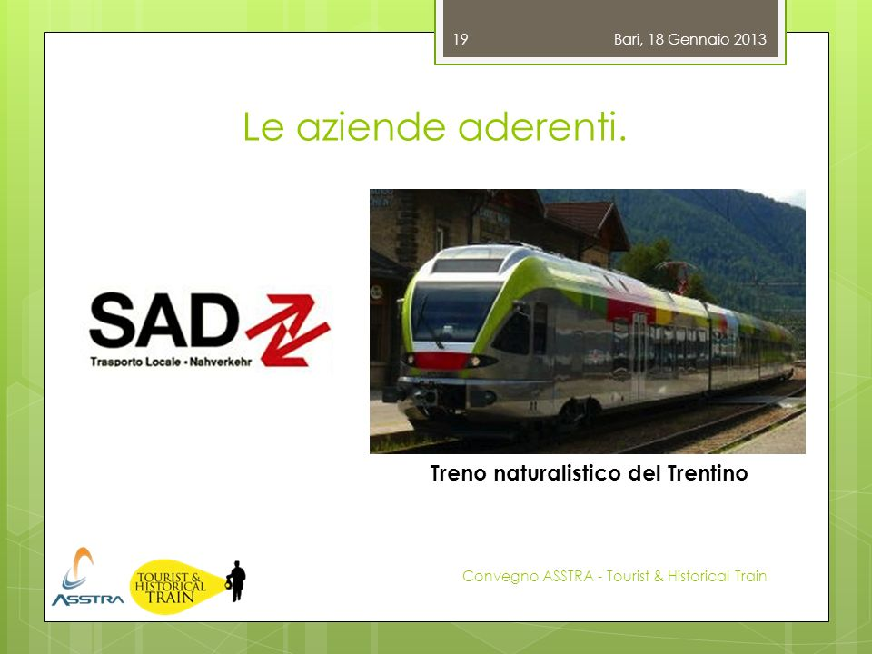 Treno naturalistico del Trentino