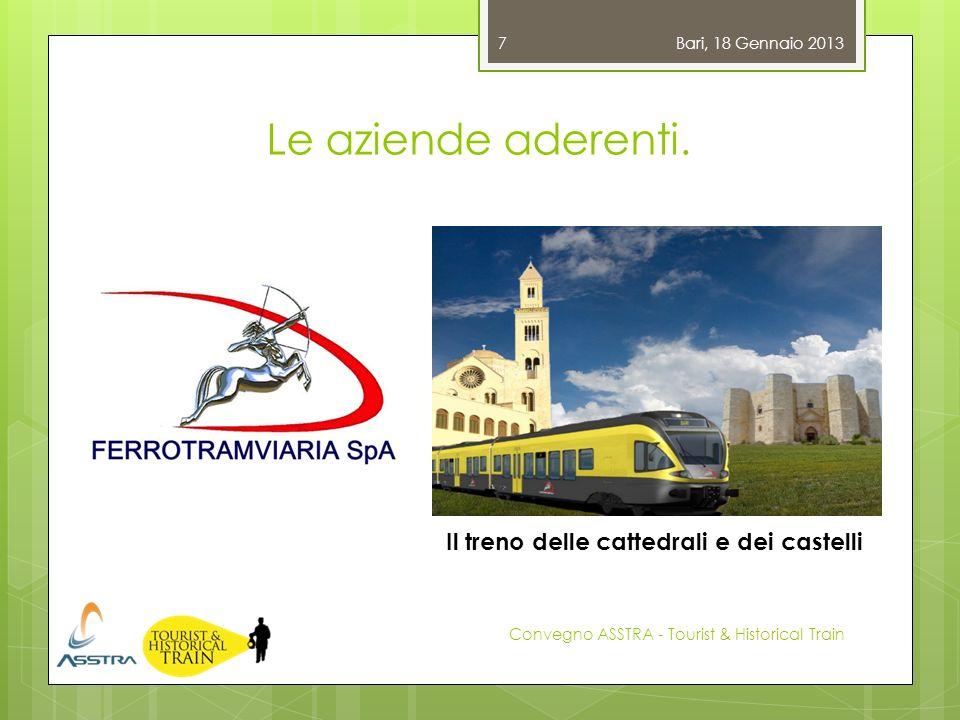 Il treno delle cattedrali e dei castelli