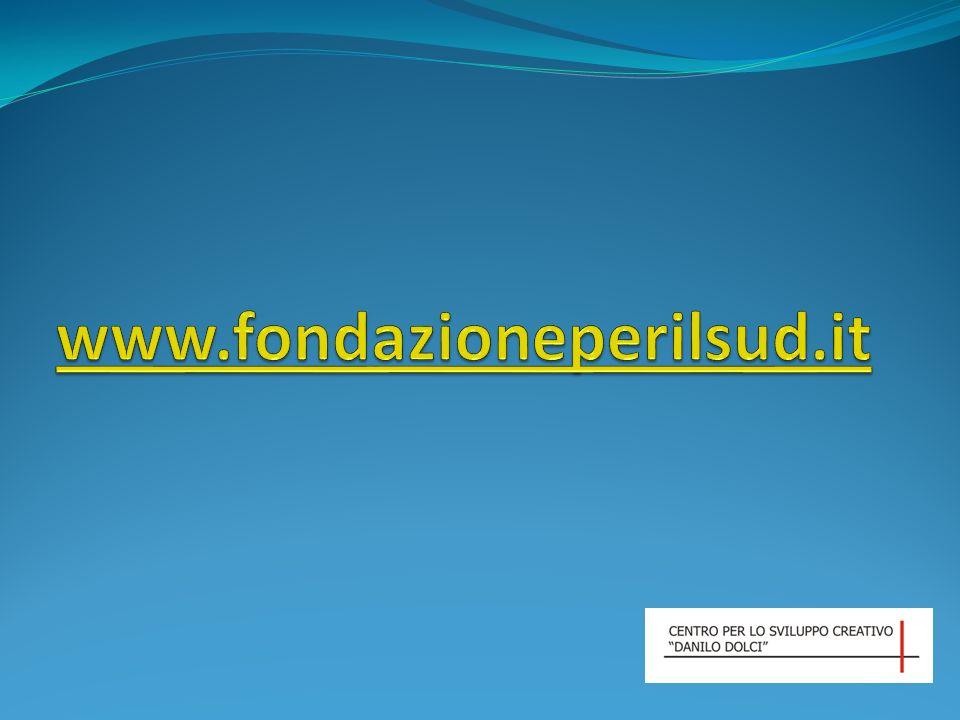 www.fondazioneperilsud.it