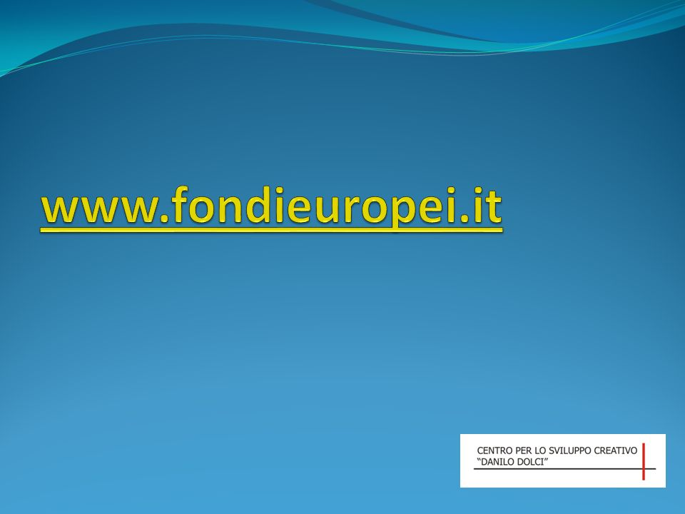 www.fondieuropei.it