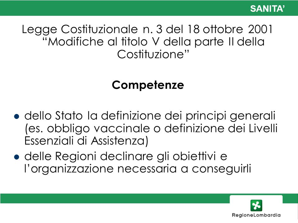 Legge Costituzionale n