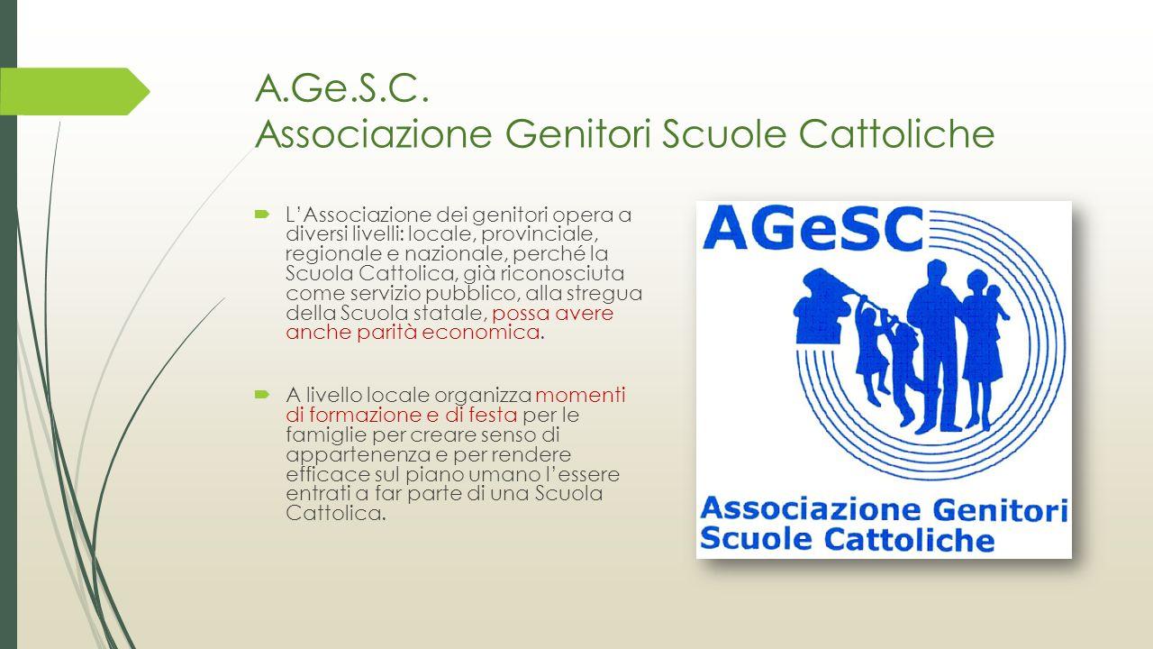 A.Ge.S.C. Associazione Genitori Scuole Cattoliche