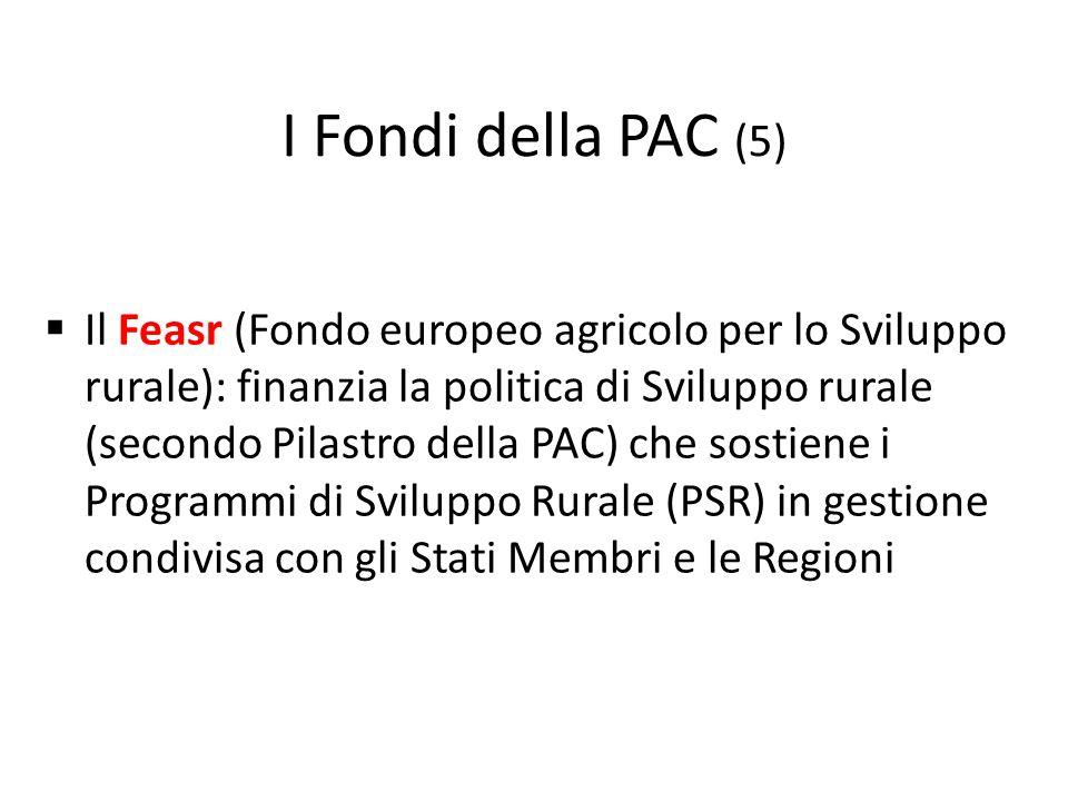 I Fondi della PAC (5)